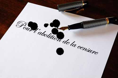 blanc post action, action note blanche, anti-censure, contre la censure, censorship