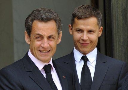 Nicolas Sarkozy et Boris Boillon,  Le diable et son associé